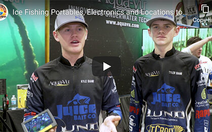 Ice fishing portables, electronics and locations to consider [video]