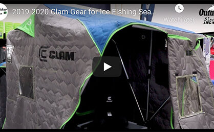 Going inside the new Clam ice house [video]